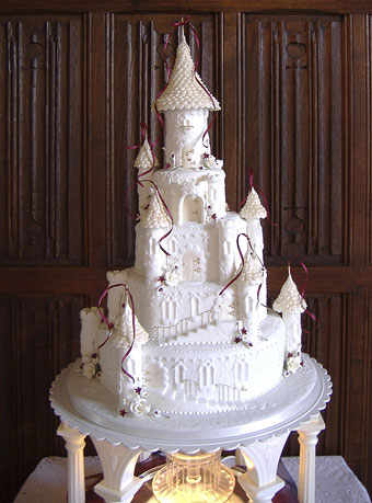 Fairycastle wedding cakes