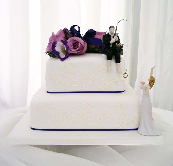 Fishing Wedding Ideas: Wedding Cakes In Kent