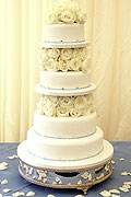 wedding cakes by Cakes Galore